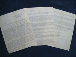 Original Typed Letter Signed By Jean Renoir To Charles Spaak Re Grand Illusion
