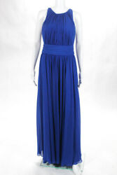 Badgley Mischka Collection Blue Corundum Sapphire Gown 790 Size 10 10297529