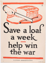 Frederick G. Cooper Wwi Food And Drink Posters U.s. Food Administration