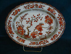 Copeland Spode India Tree Oval Serving Bowl