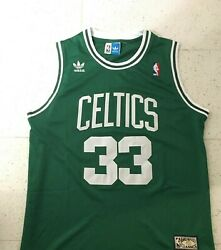 Larry Bird Vintage Boston Celtics basketball jersey men#x27;s
