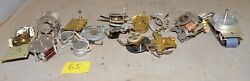 11 Electric Clock Motor Movement Vintage Collectible Steam Punk Parts Repair G5