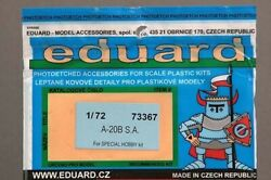 Eduard 73367 172 Etching Parts For A-20B