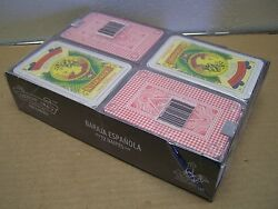 Wholesale Lot Of 12 Unopened Traditional Decks Of Spanish/mexican Playing Cards