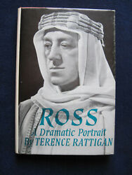 Ross - Signed By Terence Rattigan And Alec Guinness Wi Guinness Autograph Card 1st