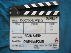 Clapperboard - Doctor Who - First Full Episode Of Matt Smith - The Eleventh Hour