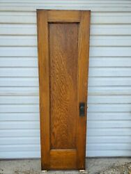 Ch2 Antique Oak Single Panel Door 24 By 80 Shipping Options