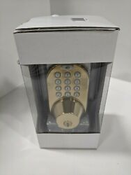 Morning Industry Inc Qf-01p 3-in-1 Remote Control And Touchpad Dead Bolt