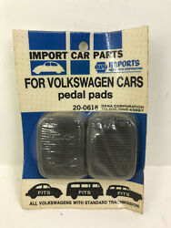 Nos Napa Imports Volkswagen 1954-77 Pedal Pads Part 20-0618