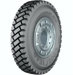 4 New Goodyear Workhorse Msd - 11/r24.5 Tires 11245 11 1 24.5