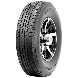 4 New Maxxis M8008 St Radial - St235/80r16 Tires 2358016 235 80 16