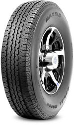 4 New Maxxis M8008 St Radial - St205/75r15 Tires 2057515 205 75 15