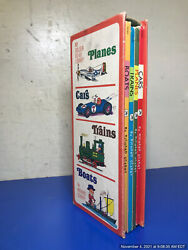 Cars Boats Trains And Planes 4 Book Boxed Set