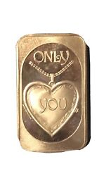 Rare Vintage 1986 Cameo Classic Silver Bar 'only You' In Original Packaging