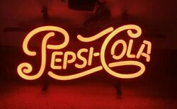 Pepsi cola soda pop led light up store advertising sign 1951 logo mib