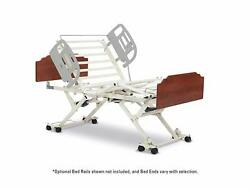 Invacare Cs7 Bed, Amherst Style Bed Ends With Amber Cherry Finish, Assist Bar