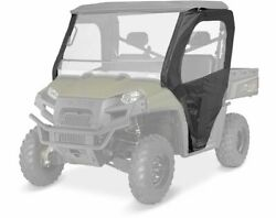 New Polaris Canvas Front Doors With Zippered Windows