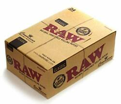 Raw Classic Connoisseur King Size Slim Rolling Papers + Filter Tips Pack Of 24 B