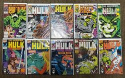 The Incredible Hulk Lot 216-473 Various Issues - 94 Total Issues