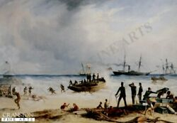 Rigle Brigade Victorian Army Military Art Print Cape Of Good Hope South Africa