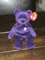 Rare 1997 Ty Princess Diana Beanie Baby With Tag. Excellent Condition.