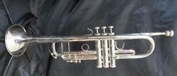 Bach 180ml37sp Trumpet Yellow Brass Silver Plated With Cases From Japan Novelty