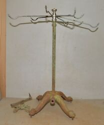 Rare Cast Iron Lion Foot Garden Lawn Sprinkler Collectible Victorian Water Tool