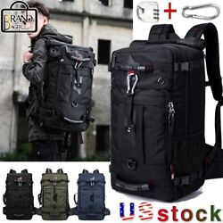 KAKA Brand Men Travel 50L Multifunction 17.3 Laptop Backpack outdoor Luggage Bag $39.66