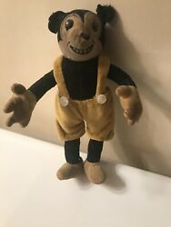 Vintage Mickey Mouse Doll 1930, Dean's Rag Doll