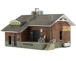 Woodland Scenics N Scale Built-up Building/structure Chip's Ice House