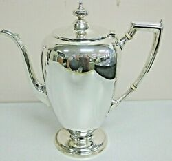 Reed And Barton Sterling Silver Coffee Pot Pointed Antique 87 Hollowware 7 3/4 In
