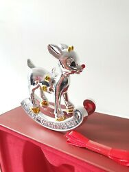 Lenox 2011 Annual Holiday Deer Ornament Baby's 1st Christmas