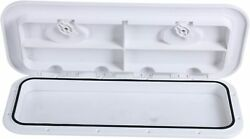 Marine Boat Abs Deck Hatch Access Hatch Window And Lid 24 X 9-5/8 White Us Ship