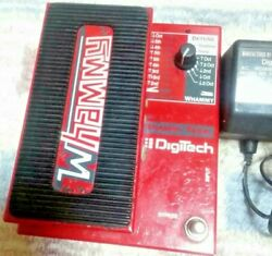 Digitech Whammy Wh-1 Wh1 Effects Original Vintage Pedal Electric Power Guitar