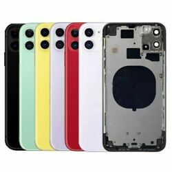 For Lphone 11 11 Pro Max Battery Cover Glass Housing Rear Back Door Replacement