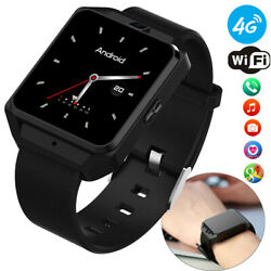 WIFI 4G GPS Tracker Smart Watch Sport Fitness Tracker Unlocked For Android Phone