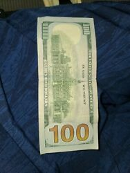 2009 100 One Hundred Dollar Bill Star Note Low Serial Numbers