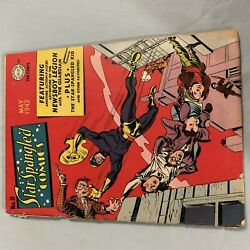 Star Spangled Comics 8 Golden Age Pre Code Good+ G+ 2.5 1942 Dc The Guardian