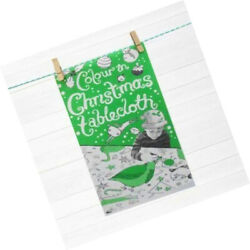 Christmas Colour-in Paper Tablecloth 1m X 89cm