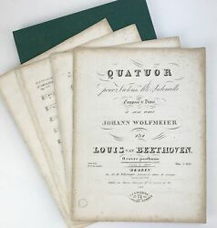 Beethoven String Quartet No. 17 In F Major, Op. 135 – First Edition