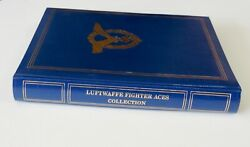 Robert Taylor - Luftwaffe Fighter Aces Collection - 24 Signatures And Bios - Mint