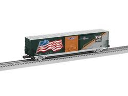 Lionel 6-85407 Wp Heritage 1983 Union Pacific Led Flag Boxcar