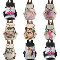Womens Travel Bookbags Cute Satchel Backpack Teenage Girl School Bag Rucksack $24.99