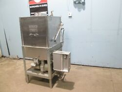 Hobart Am11 Heavy Duty Commercial Natural Gas High Temp. Door Type Dishwasher