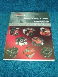 Briggs And Stratton Single Cylinder L Head Engine Repair Manual 270962