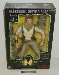 ++ Ancien Jouet Figurine The Mummy Oand039connell 12 Inch Sounds And Lights ++