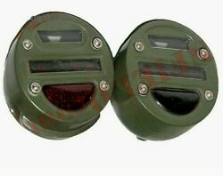 Cat Eye Tail Light Pair Prestolite Military Jeep Truck Willys Ford Mb Gpw