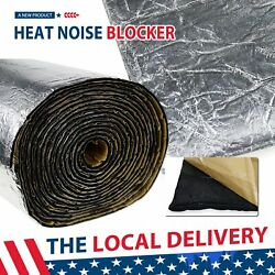 Sound Deadener - Automotive Noise Insulation Mat With Adhesive Layer 80x40