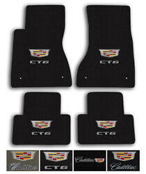 Lloyd Carpet 4pc Floor Mats For 2016-2020 Cadillac Ct6 - Choose Color And Logo