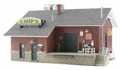 Woodland Scenics N Scale Chip's Ice House Built And Ready Br4927mint In Box